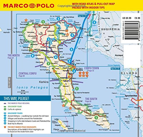 Corfu Marco Polo Pocket Guide Marco Polo Travel Guides Amazonco