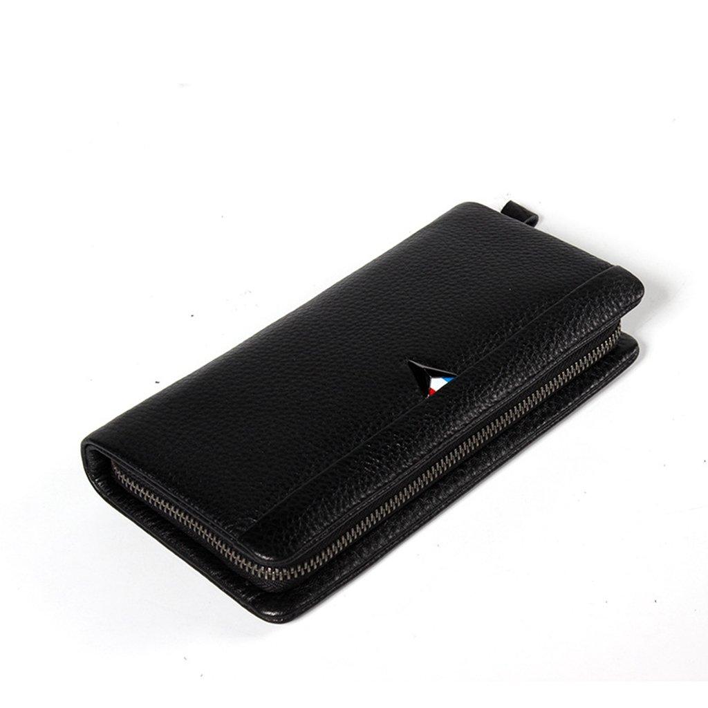 Mens Leather Wallet RFID Blocking Credit Card Holder Coin Pocket Purse 20.5x11.5x3CM