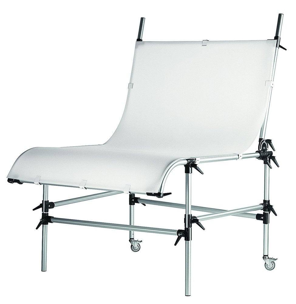 Manfrotto 220PSL Still Life Table without Plexi Cover - Special Order Only (Black) by Manfrotto