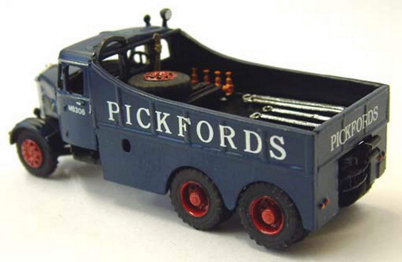 Langley Models Scamel Junior Constructor Pickfords 58 OO Escala SIN pintar Kit de G125: Amazon.es: Juguetes y juegos