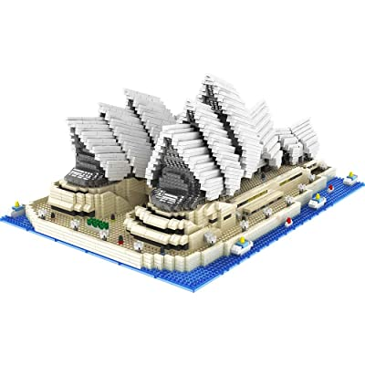 GoolRC 9916 Model Sydney Opera House Atomic Building Blocks Kit 4131pcs Gift Toy for Kids: Toys & Games