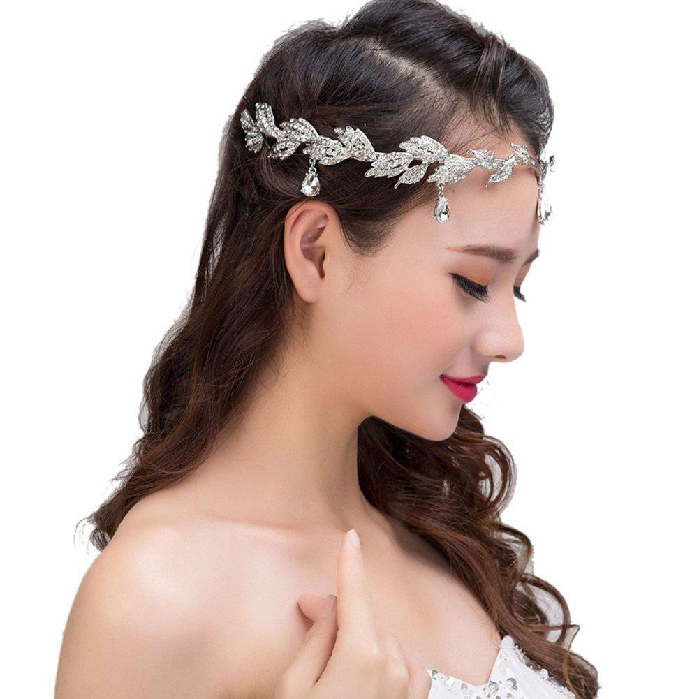 1 Pieza Tiara De Novia Peines Hecho A Mano Joyería De Pelo Moda Para Mujer Accesorios Para El Pelo HABI