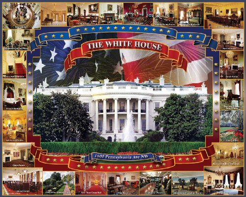 White Mountain Puzzles House Jigsaw product image