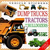 Vehicle Stickers: Dump Trucks, Tractors and Bulldozers