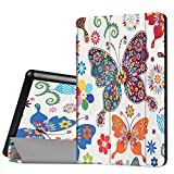 Case for Amazon Kindle Fire HD 8 Tablet 6th Generation 2016 Suntechor Standing Cover Folding Protective Leather Case (8)