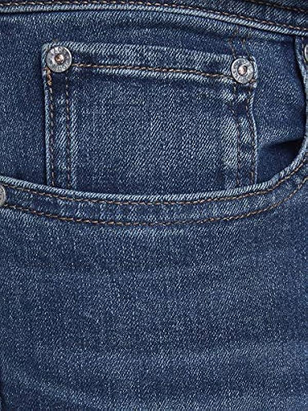 JACK & JONES Męskie Glenn oryginalne dżinsy Slim: Odzież