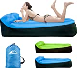 Inflatable Lounger,Bfull Latest Extended Version 200*75*55cm Waterproof Air Sofa with Carry Bag,Inflatable Couch Air loungers for Indoor/Outdoor Camping,Beach,Swimming Pools,Park,Garden,Travelling etc