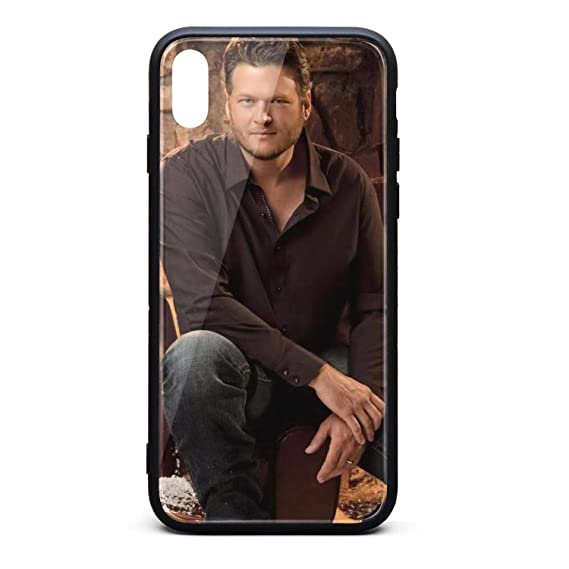 Blake Shelton Cheers Its Christmas.Amazon Com Iphone X Xs Case Slim Ultra Anti Scratch Blake