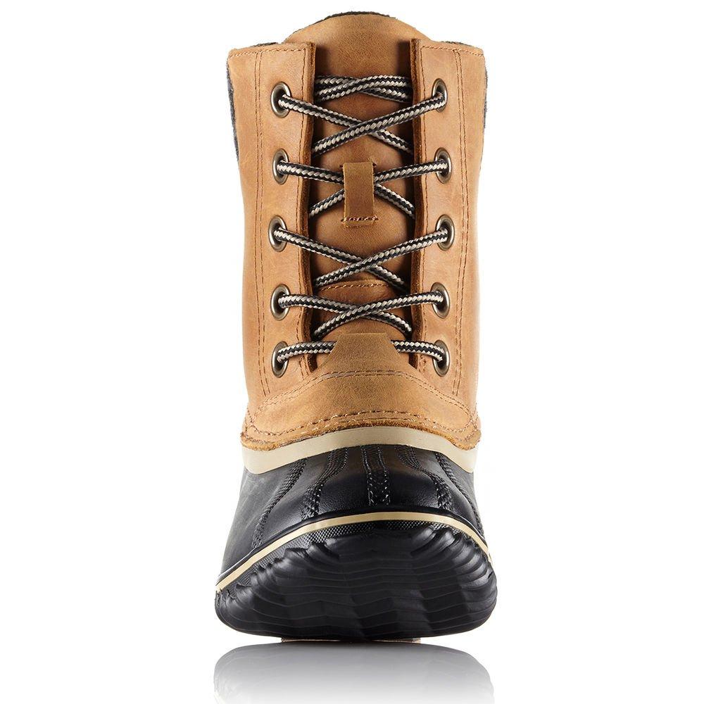 Sorel Women's Slimpack Lace II Snow Boot, Elk, Black, 7 B(M) US by SOREL (Image #3)