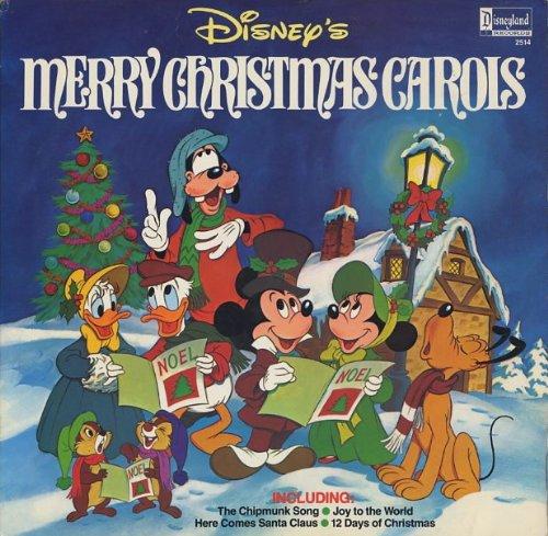 Disney's Merry Christmas Carols Merry Christmas Songs Disney