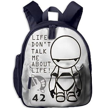 b428426195b Amazon.com | Soutan Custom Guide To The Galaxy Backpack Students School Bag  Kids Backpack | Kids' Backpacks