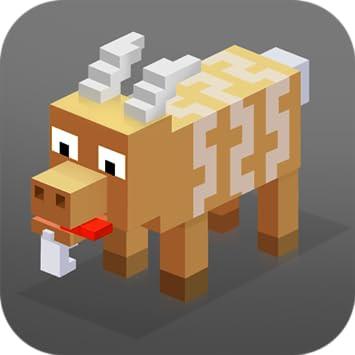 Crazy Cube Goat: Turbo Attack | 3D Animal Simulator Goat Sim Cute Pets Cube Craft