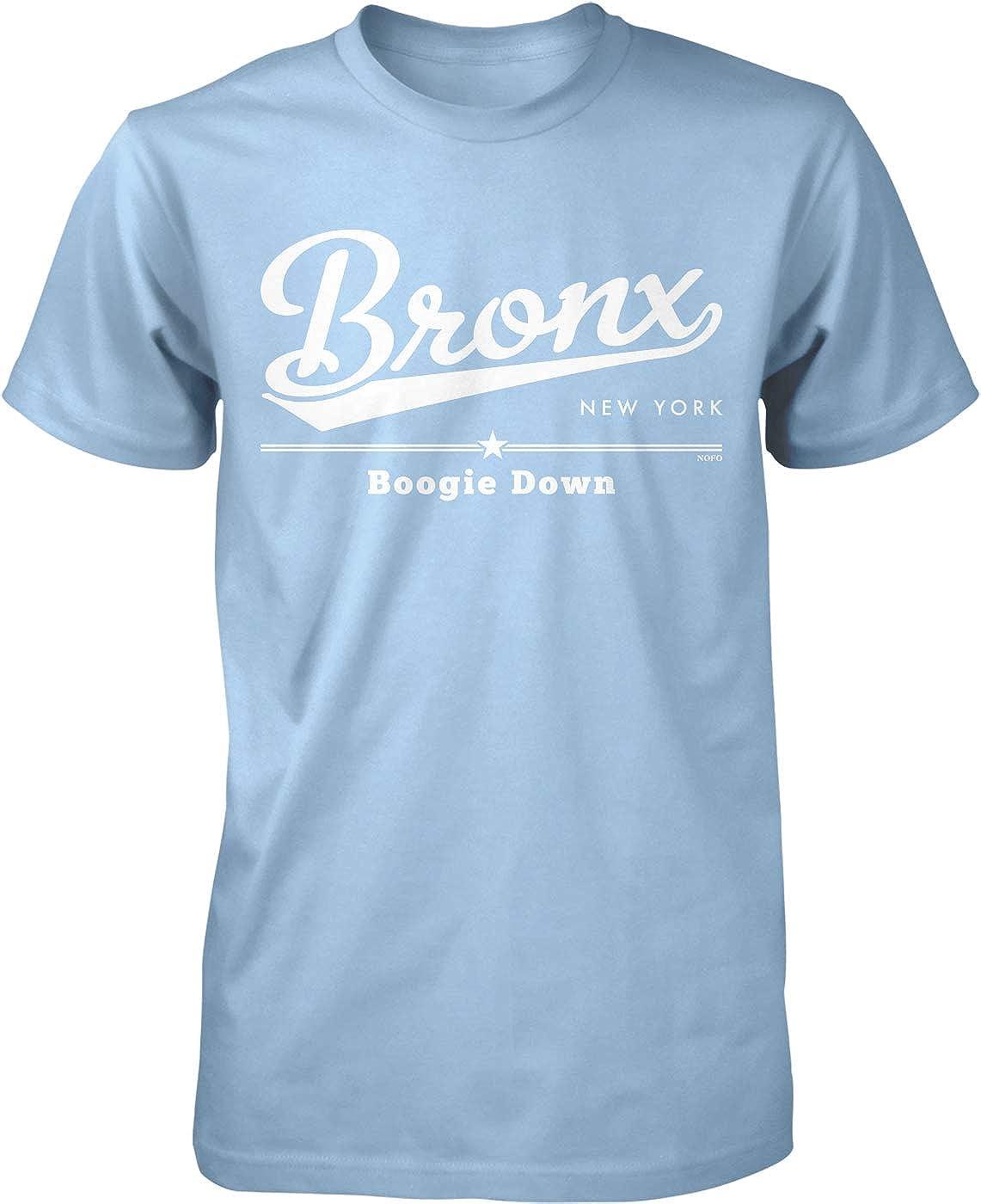 Hoodteez Bronx, New York, Boogie Down Men's T-Shirt