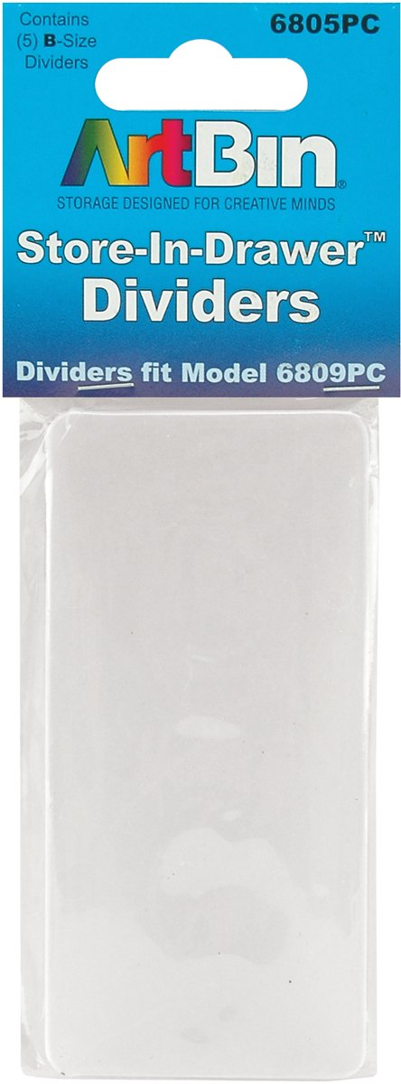 ArtBin 6805PC Store-In Drawer Divider Packs, 5-Pack