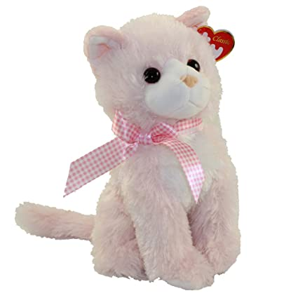 25bad0f55ed Image Unavailable. Image not available for. Color  TY Classic Plush -  DUCHESS the Pink Cat ...
