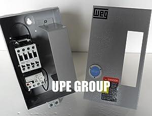 WEG 7.5 HP 460VAC MAGNETIC STARTER FOR ELECTRIC MOTOR AIR COMRPESSOR 7.5 HP 3 PHASE 460V 12AMP