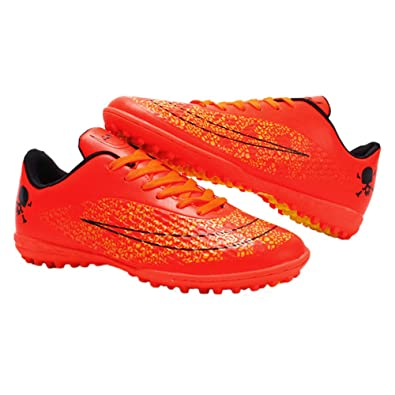 f6fe3a7487c9c Image Unavailable. Image not available for. Color: iFANS Men Athletic  Outdoor/Indoor Comfortable Soccer Shoes ...