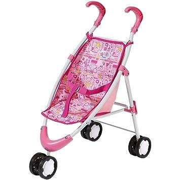 Amazon.es: Baby Born - Carrito de golf color rosa patrón con varios animales sobre la amortiguación: Juguetes y juegos