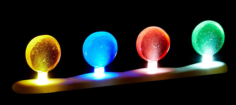 Department 56 Accessories for Villages Lit Candy Corner Luminaries Figurine Set of 2