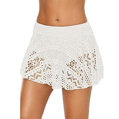 BulzEU - Baderock para Mujer con Slip Interior Integrado, Bikini ...
