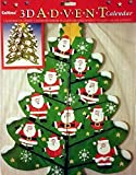 Best Value 3D Classic Large Stand Up Christmas with Santa Tree Advent Calendar Xmas Perfect Holiday Gift {jg} For mom, dad, sister, brother, grandma, friend, gay