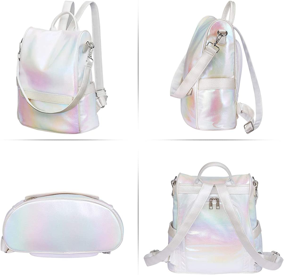 TENDYCOCO Anti-theft Backpack Purse Convertible Shoulder Bag Fashion Backpack for Women
