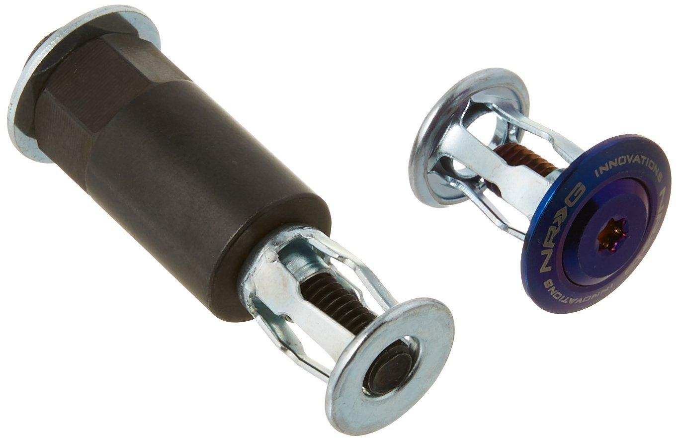 Pro Braking PBK2811-PNK-PUR Front//Rear Braided Brake Line Pink Hose /& Stainless Purple Banjos