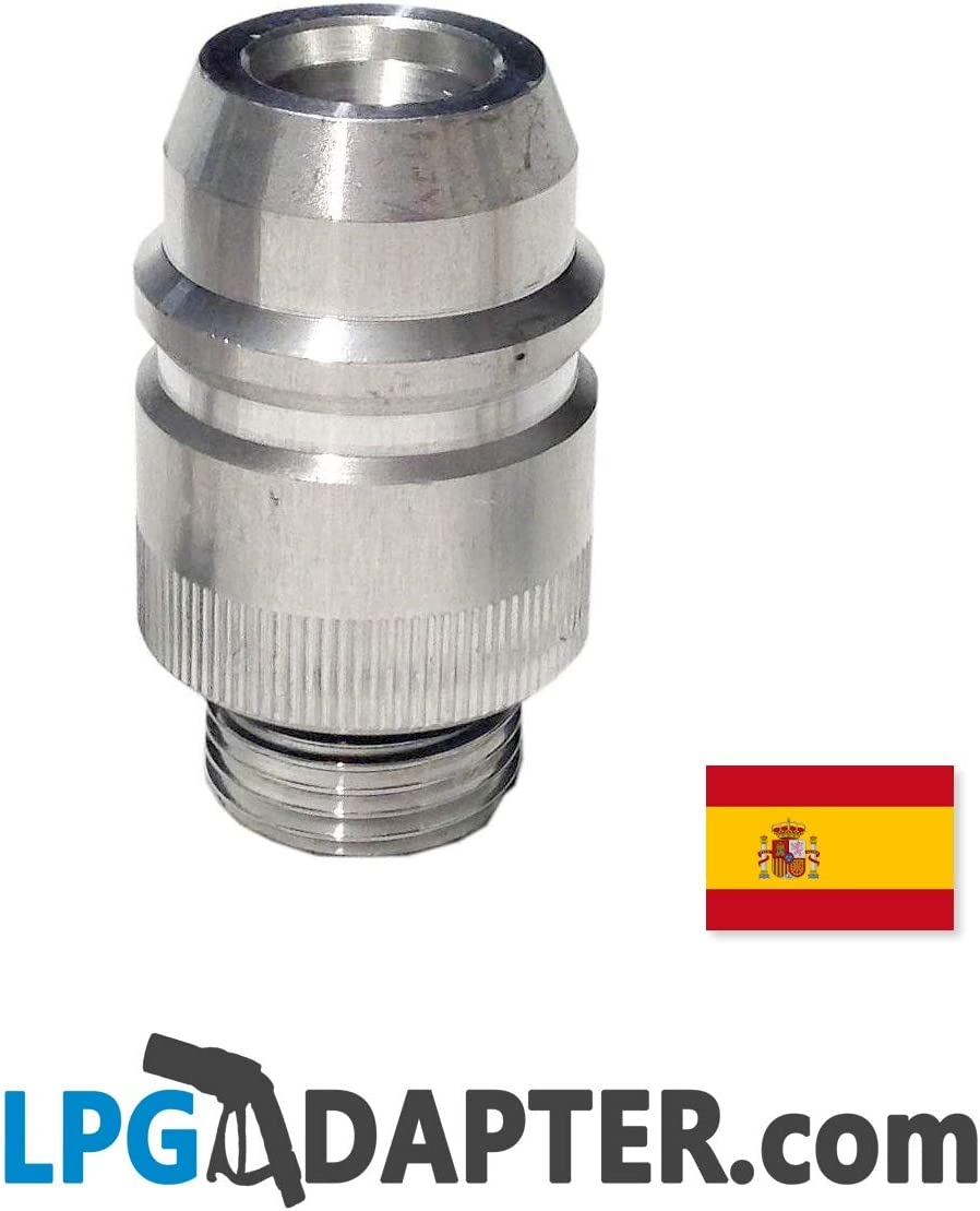 Adaptador para repostar GLP para España de LPG GPL: Amazon.es ...