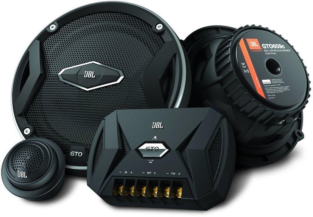 JBL Car GTO 609C 6.5 Inch 2-Way Component Speaker System Including x2 Midrange Speakers and x2 Tweeters - Black Harman International Industries LTD. GTO609C
