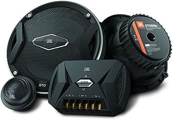 jbl car gto 609c 6 5 inch 2-way component speaker system including x2  midrange speakers