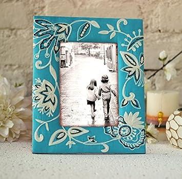 Marco de fotos de madera, soporte de mesa, regalo de marco de fotos hecho