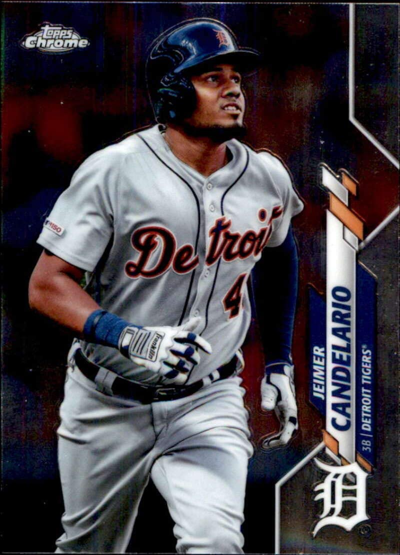 Amazon.com: 2020 Topps Chrome Baseball #19 Jeimer Candelario Detroit Tigers  Official MLB Trading Card From The Topps Company: Collectibles & Fine Art