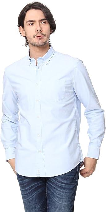 United Colors of Benetton Shirt 5sb05qcj8 Camisa, Azul (Light Blue), Medium para Hombre: Amazon.es: Ropa y accesorios