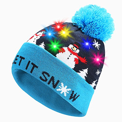 PUMICE LED Light Up Beanie Colorful LEDs Hat