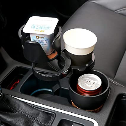 Car Cup Holder Expander Foam Insert Turns One Drink Holder Into Three Car Cup Holders by Illinois Industrial Tool Trio Car Cup Holder