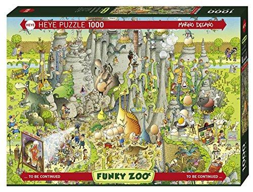 Heye Jurassic Habitat Degano Puzzles (1000-Piece, Multi-Colour)