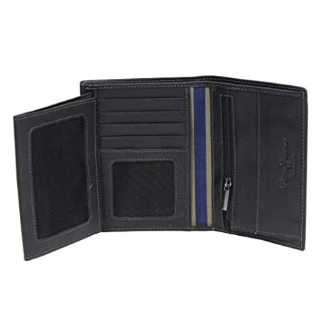 Pepe Jeans Relief Monedero, 0.14 litros, Color Negro: Amazon ...