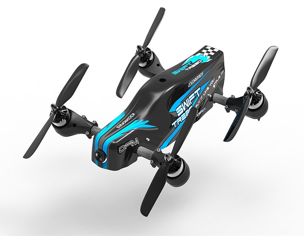 VOLANTEXRC RC FPV Racing Quadcopter 280 Class Swift TR280 with 1080p HD Camera Live Video, Dynamic Rotor Tilting, Stable Horizontal FPV, Super Fast Speed for Drone