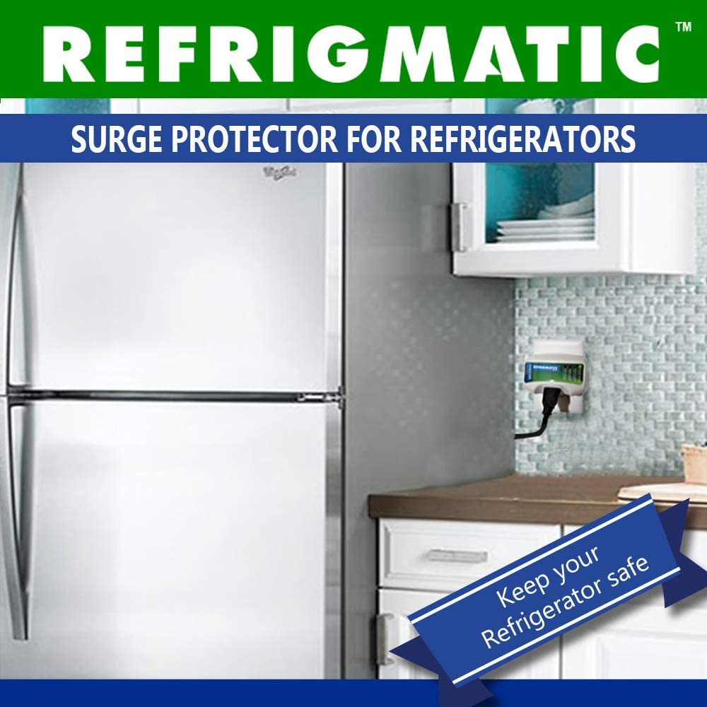 2 ft. Pieces Refrigmatic WS-36300 Electronic Surge Protector for Refrigerator Up to 27 cu