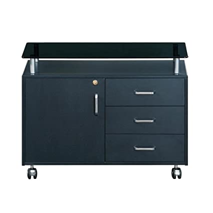 Amazon Functional Wooden Home Office 3 Drawer Storage File