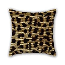 Snake Skin Throw Pillow Case 20 X 20 Inches / 50 By 50 Cm For Indoor Wife Teens Boys Club Coffee House Home With 2 Sides