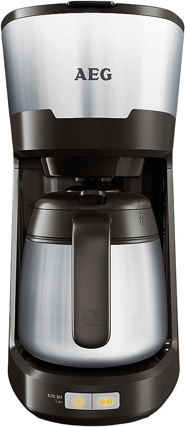 AEG KF5700 - Cafetera (Independiente, Negro, Goteo, De café molido, Café, Semi-automática): Amazon.es: Hogar