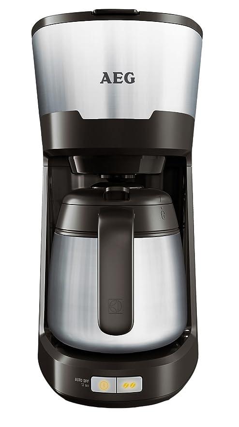 AEG KF5700 - Cafetera (Independiente, Negro, Goteo, De café molido ...