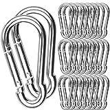 30Pack Spring Snap Hook, 2-3/8Inch Zinc-Galvanized