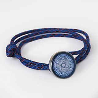 product image for Compass Rose Maritime Rope Bracelet