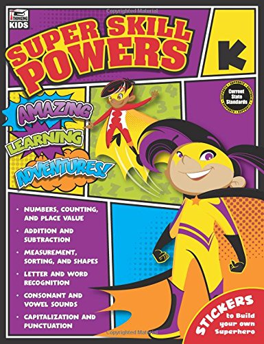 Read Online Super Skill Powers, Grade K ebook