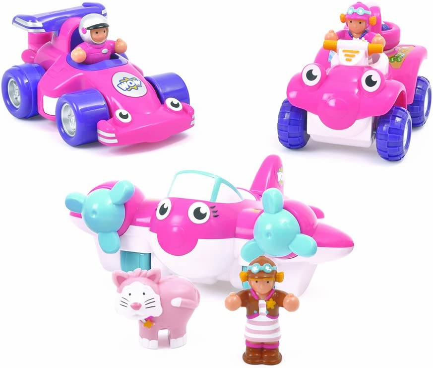 WOW Toys 80024 GirlS Adventure Coche de Juguete