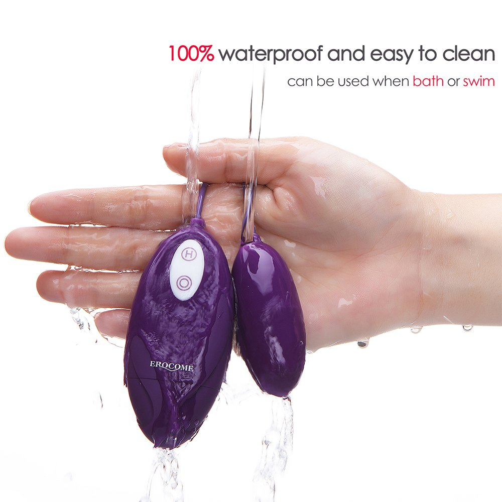 LYSOLO Waterproof 12 -Frequency Silicone Love Egg for Women by VVLT (Image #6)