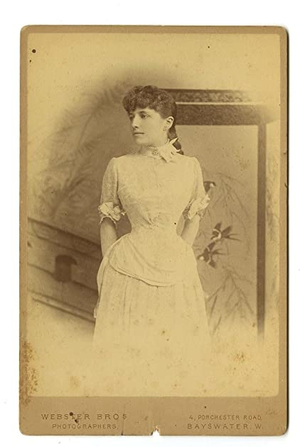 19th century fashion 1800s cabinet card photo webster bros of bayswater