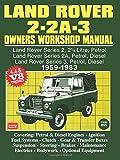Land Rover 2/2A/3, 1959-1983, Brooklands Books Ltd Staff, 0713625120